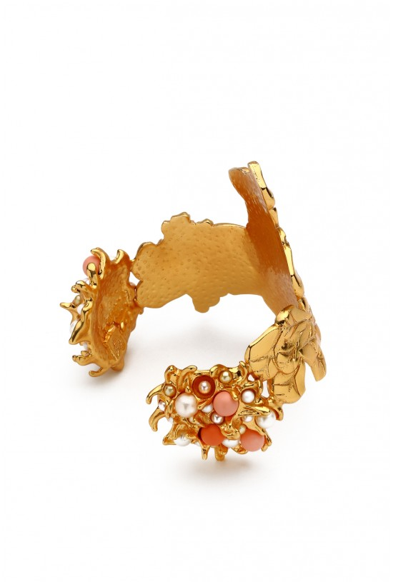 "Bratara Cuff it Up ""Steal the show"" GOLD"