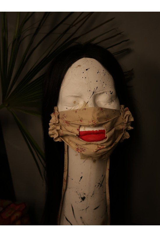 "Mască faciala bumbac ""Les Ondines'"